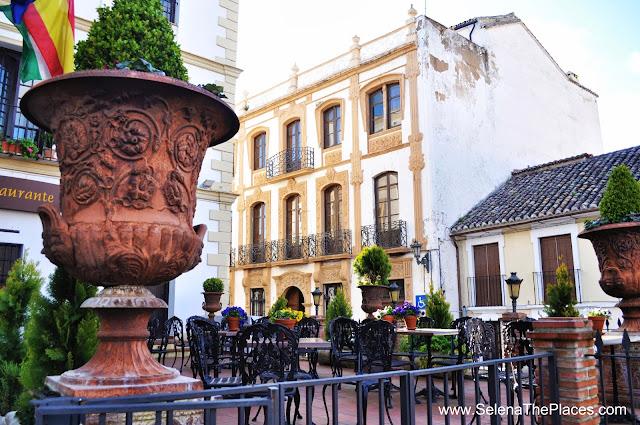 Restaurant Ronda Spain