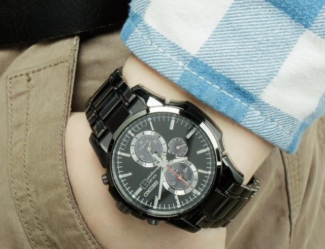 pr sentation de la montre seiko solar chronographe ssc095p1 blog de montres. Black Bedroom Furniture Sets. Home Design Ideas