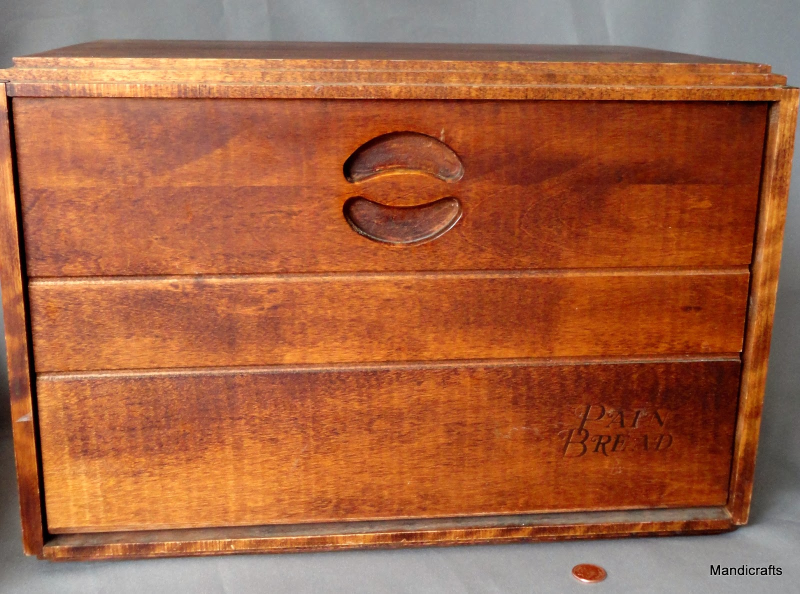 Baribocraft Baribo Maid Canada Vintage Woodenware