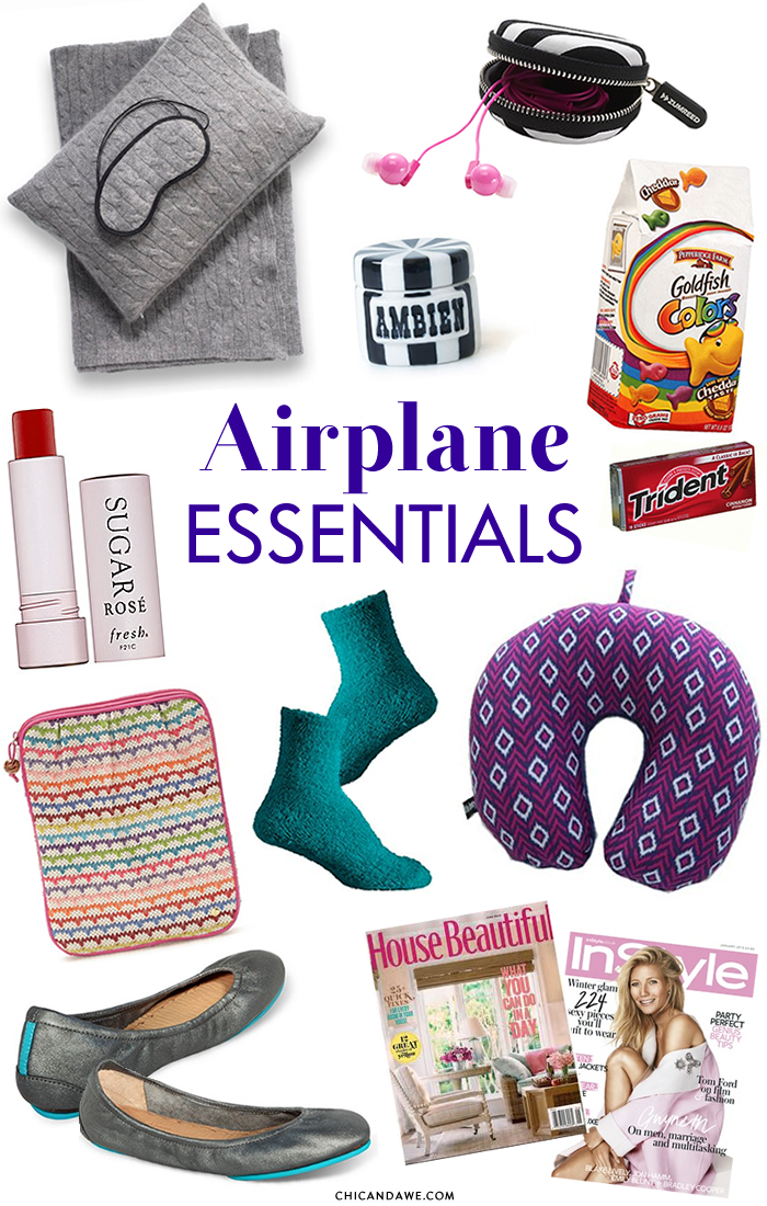 Chic And Awe Our Airplane Amp Travel Essentials