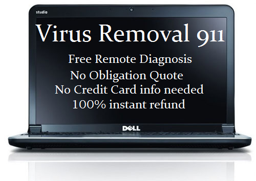 Remote Virus Removal service