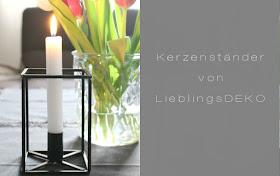 Kerzenständer von LieblingsDEKO