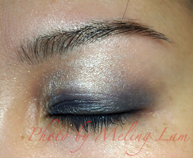 fashion makeup bourjois chocoolate trio smokey eyes eyeshadow 煙燻眼 藍色