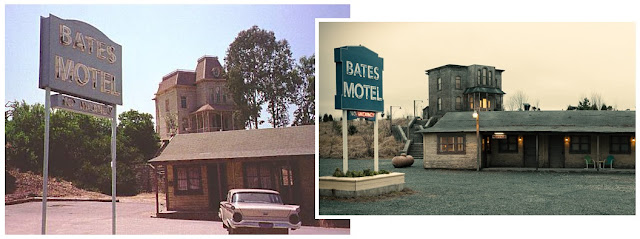 Tv talk bates motel psycho from the beginning for Norman bates house floor plan