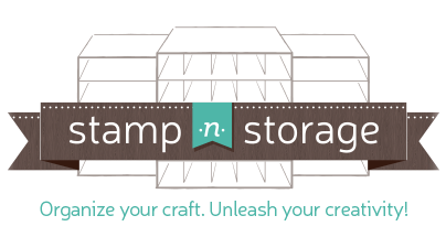 Storage for paper, stamps, punches - you name it!