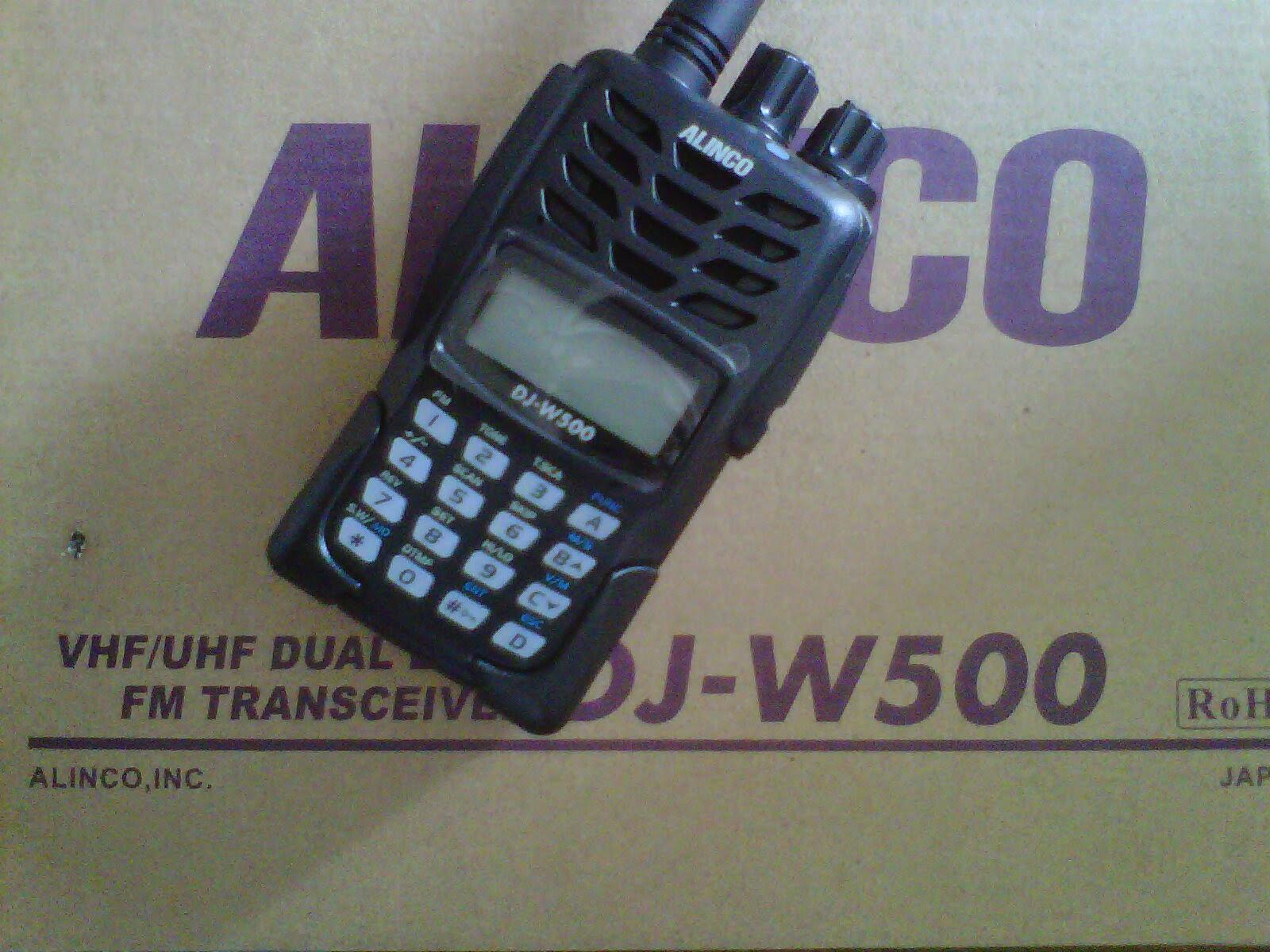 Jual HT Alinco DJ-W500 Pusat Jual handy Talky Alinco DJW500 Harga Murah