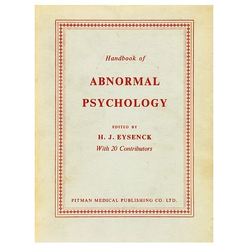 abnormal psychology as a branch of