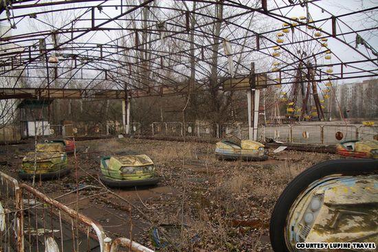 7 Tempat Wisata Paling Menakutkan di Dunia: Taman Bermain Chernobyl - Ukraina