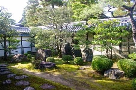 Le jardin de la Substance (Tai no niwa). Tôkaian, Myôshinji, Kyôto