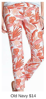 Sydney Fashion Hunter - She Wears The Pants - Old Navy Floral Women's Work Pants