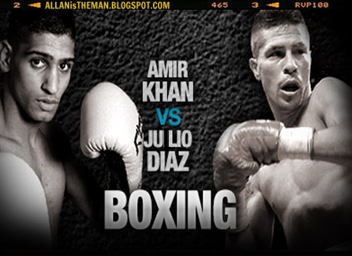 Amir Khan vs Julio Diaz Boxing Replay