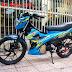 Suzuki Raider 150 sơn màu xanh zin cực đẹp