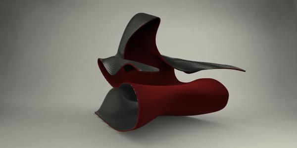 Futuristic Double-Skin Armchair by Onur Ozkaya - Inspiring Modern Home
