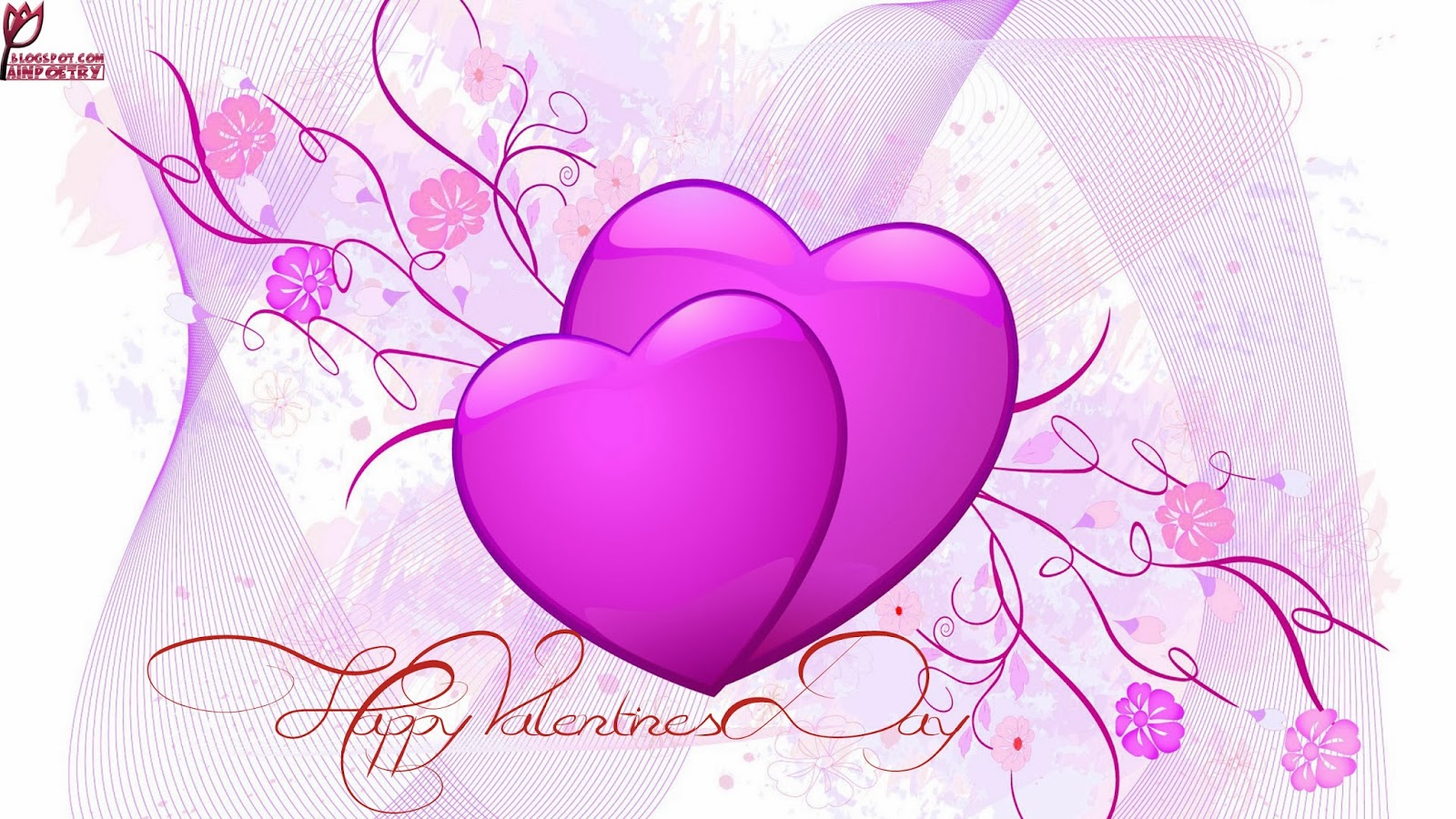Happy Valentines Day Wishes With Heart Wallpaper Image Photo HD