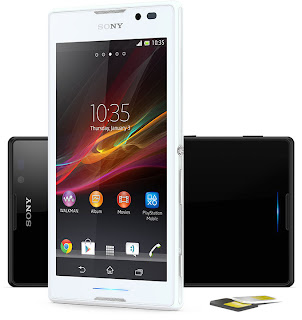 Sony Xperia C Jelly Bean Quad Core Layar 5.0 inch