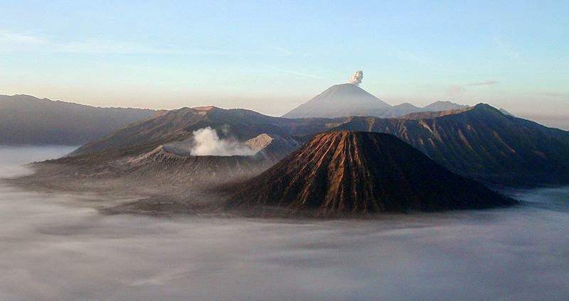 Bromo Mountain, The Fantastic Volcanoe