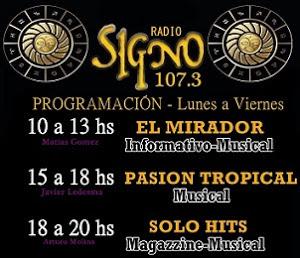 Programacion Radio Singo, REPRODUCTOR y Facebook Oficial.