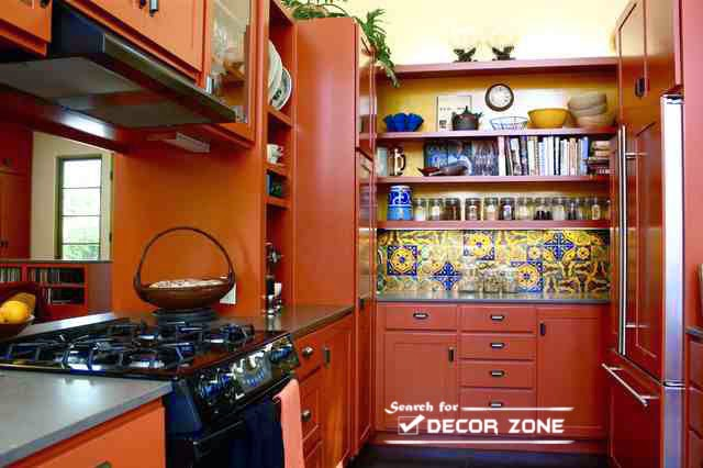 Decorating Ideas > Orange Kitchen Decor  20 Ideas And Desig ~ 114234_Kitchen Decorating Ideas Orange