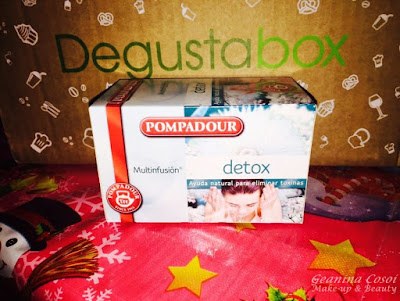 Pompadour Detox infusion Degustabox Diciembre 2015