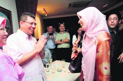 Nurul Izzah Anwar dan Datuk Saifuddin Abdullah 'bincang intelek'