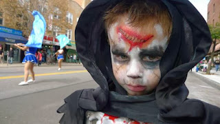 A little monsters geared up for the Ragamuffin's Parade...not Halloween (Photo: NYDailyNews)