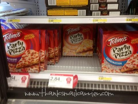 Totino's pizzas