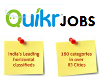 "Walkin For Any Graduate(B.Com/ BCA/ B.Sc) Freshers For Exective @""QUIKR India"" in Delhi/NCR"