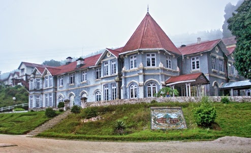 Dow Hill Girls' School in Kurseong.
