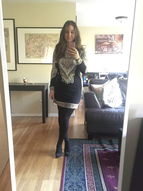 Cassidie Dress, work dress, Fall Dress, Stitch Fix, Unboxing, Night Out Dress