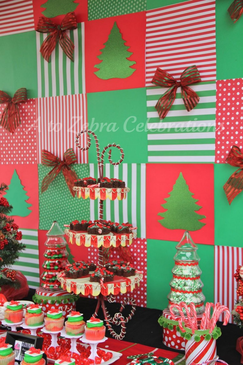 Kids christmas party decorations - Toy Drive Kids Party Give Be Sweet
