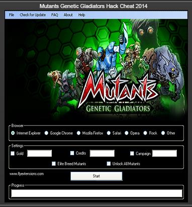 crack mutants genetic gladiators hack