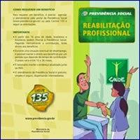 INSS, Previdência, Benefícios, Reabilitação profissional