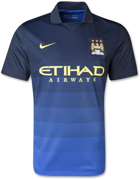 Manchester City 14-15 Away Kit