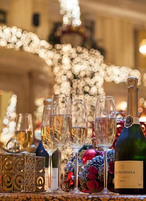 Manila Peninsule New Year's Eve Countdown 2014