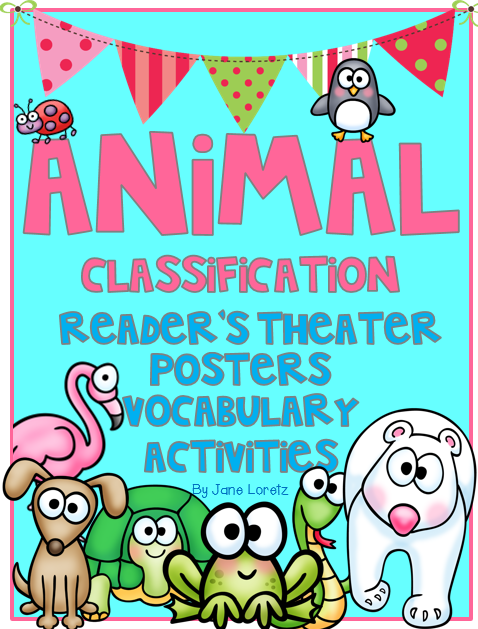https://www.teacherspayteachers.com/Product/Animal-Classification-An-ELA-and-Science-Unit-1047883