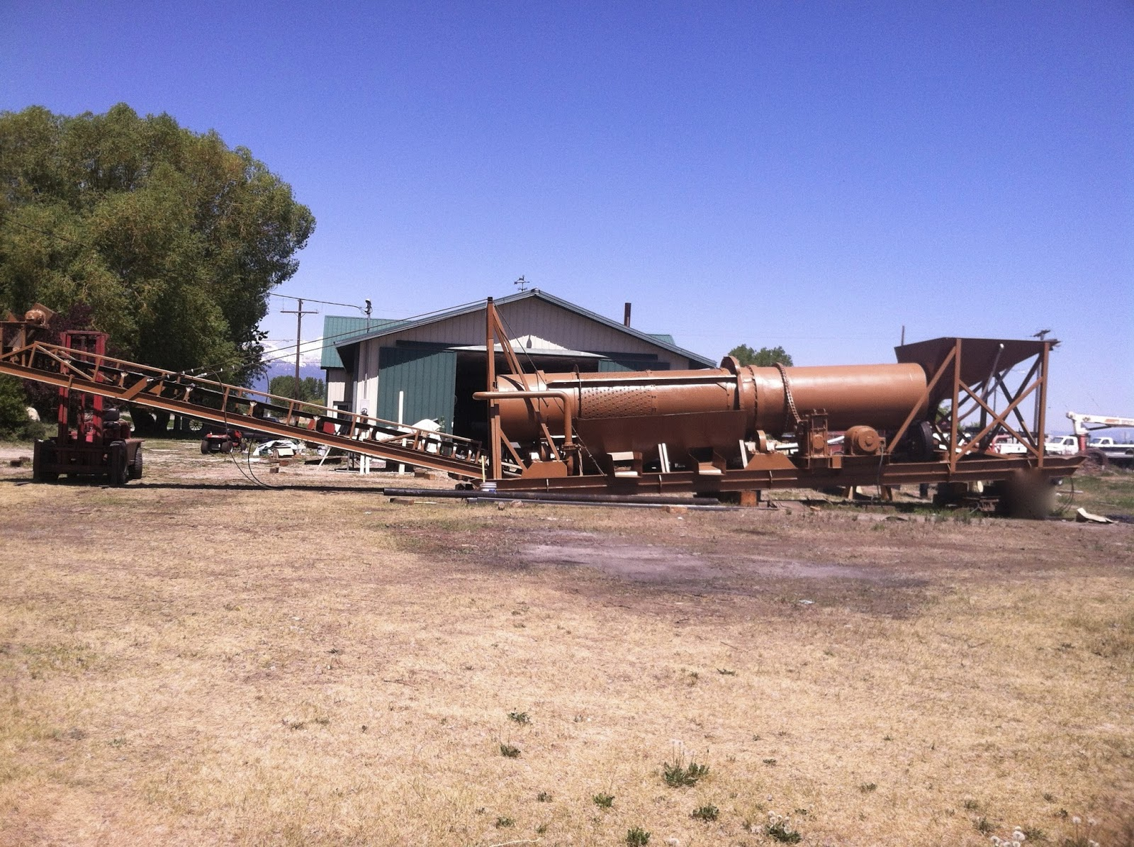 Trommel wash plant ready to get some gold