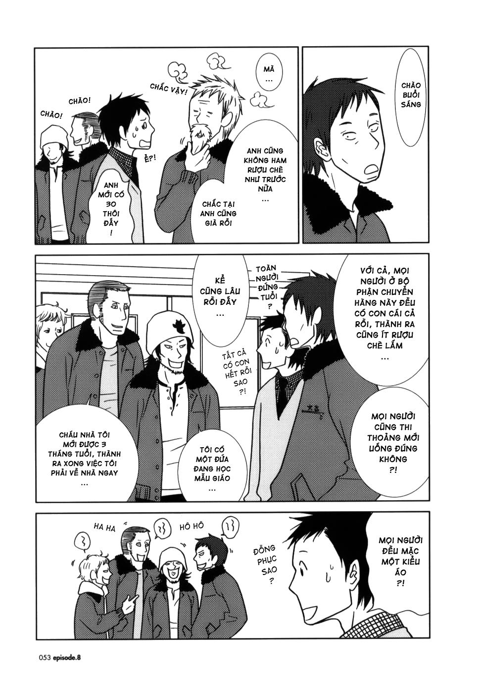 Usagi Drop chap 8 Trang 17 - Mangak.info
