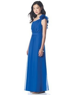 Junior+Dessy+One+Shoulder+Bridesmaid+Dress