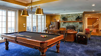 Beautiful Snooker in American Luxury House