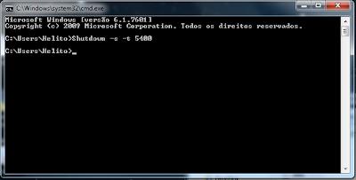 Como programar o Notebook para desligar sozinho
