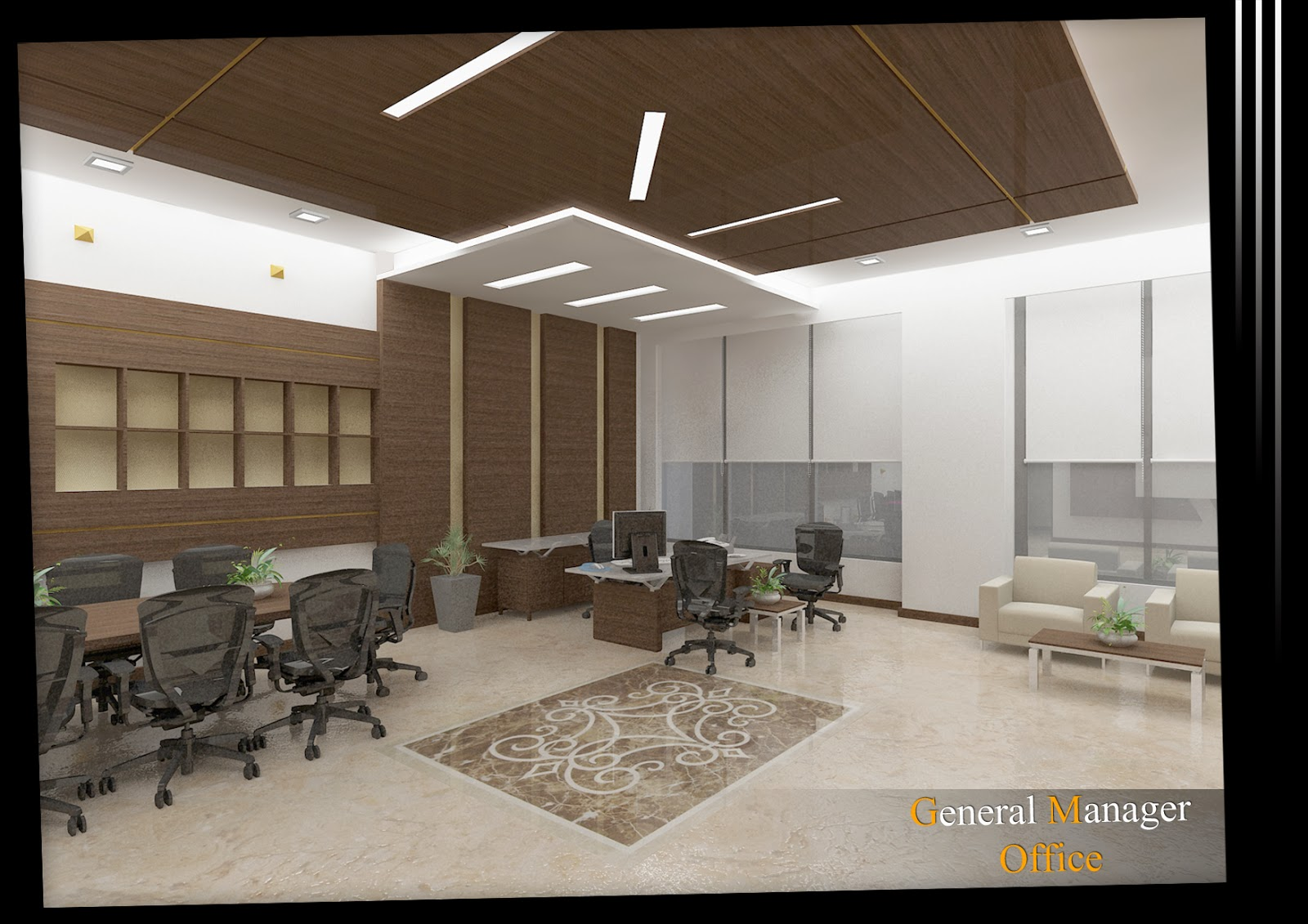 Arch michael boules interior design for general manager for Interior design qatar