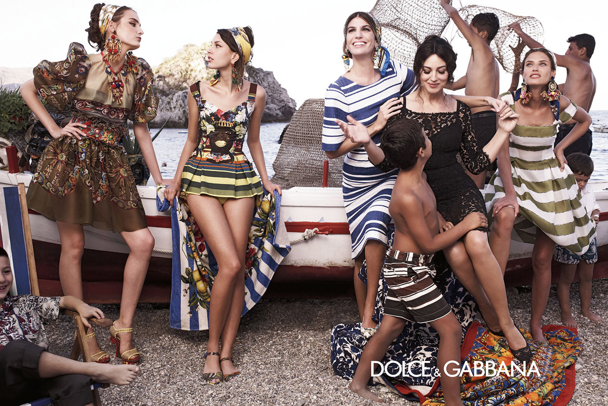 Dolce and Gabbana Summer 2013