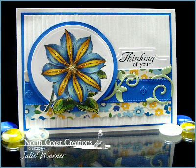 Stamps - North Coast Creations Floral Sentiments, Floral Sentiments 2, ODBD Custom Fancy Foliage Dies, ODBD Custom Recipe & Tags Die