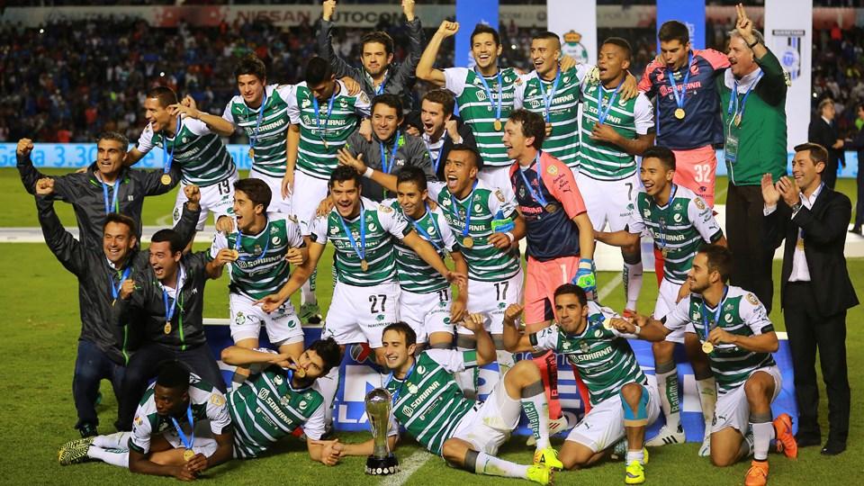 Santos, Campeón del torneo Clausura 2015 del futbol mexicano Liga MX, al vencer 3-5 (global) al Gallos Blancos del Querétaro | Ximinia