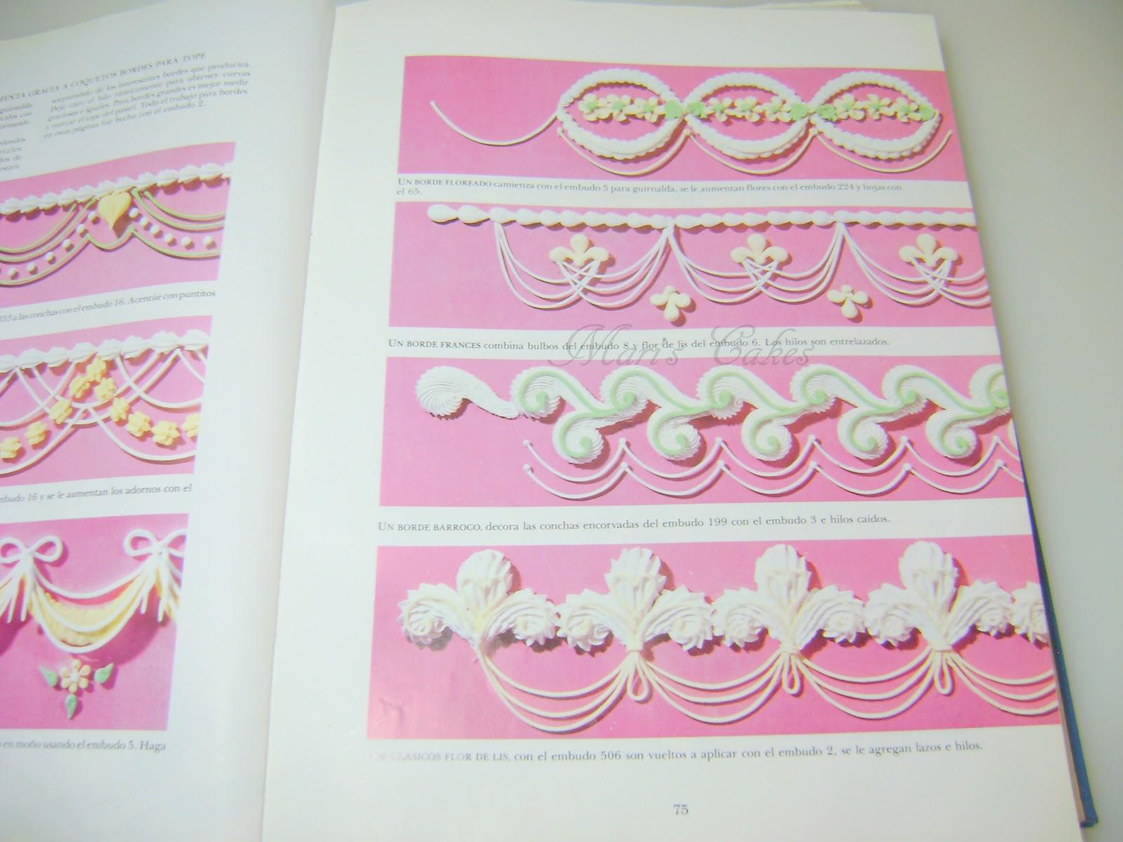 Libros de decoracion de bizcochos mari 39 s cakes - Libros para decorar ...