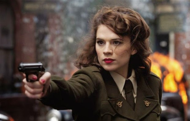 TV series Agent Carter starring Hayley Atwell