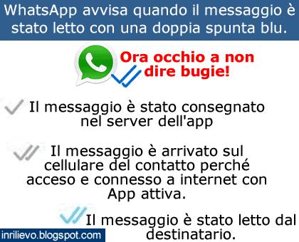 messaggio letto whatsapp