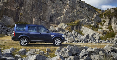 2014 Land Rover LR4 blue