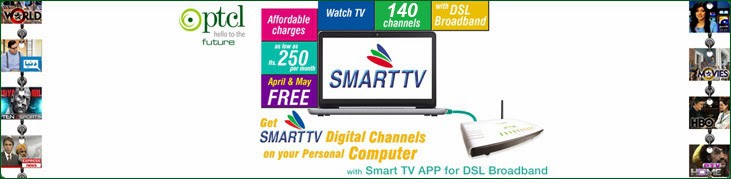 <b>PTCL Smart TV</b> PC application