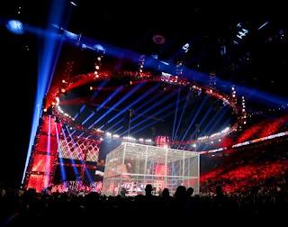 jaula infernal wwe, lucha libre en la jaula, combates sangrientos con undertaker dentro de la jaula en la WWE